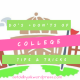 Do's + Don'ts of COLLEGE // Tips & Tricks