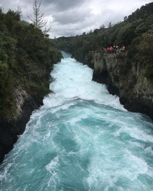 Huck Falls, New Zealand