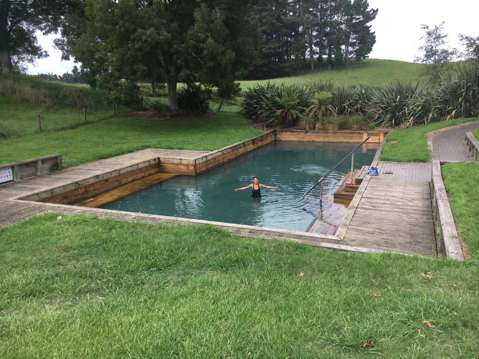 Natural Hot Water Pool