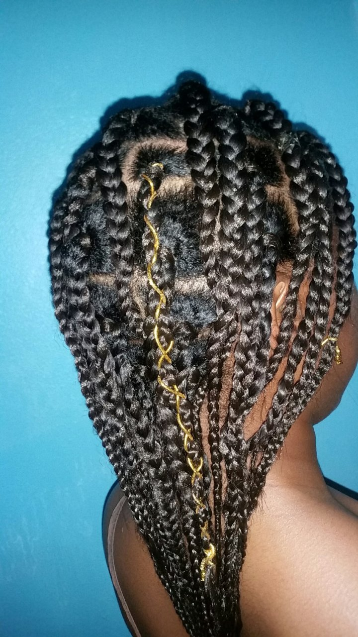 DIY Box Braids