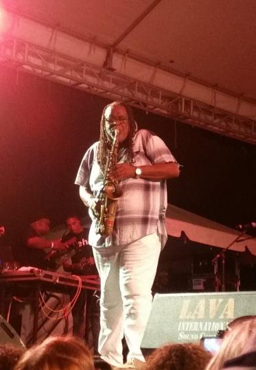 Dean Fraser in Antigua