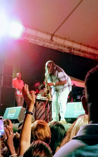 Dean Fraser at Reggae in the Park