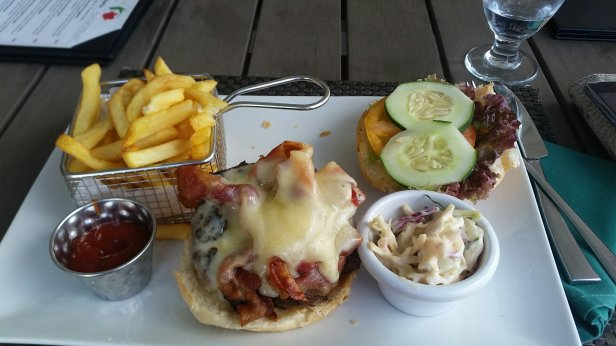 Burger from Bayhouse