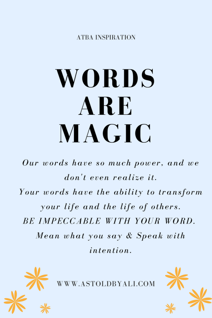 Words are Magic