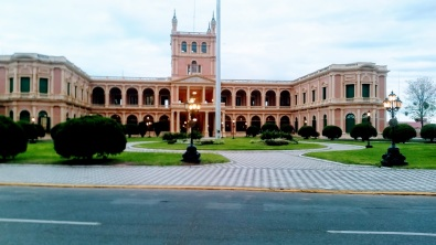 Grand Lopez Palace, the seat of government housing the presidents offices