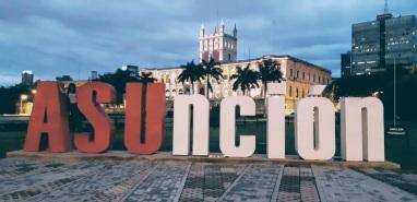 Asunción Tourist Sign