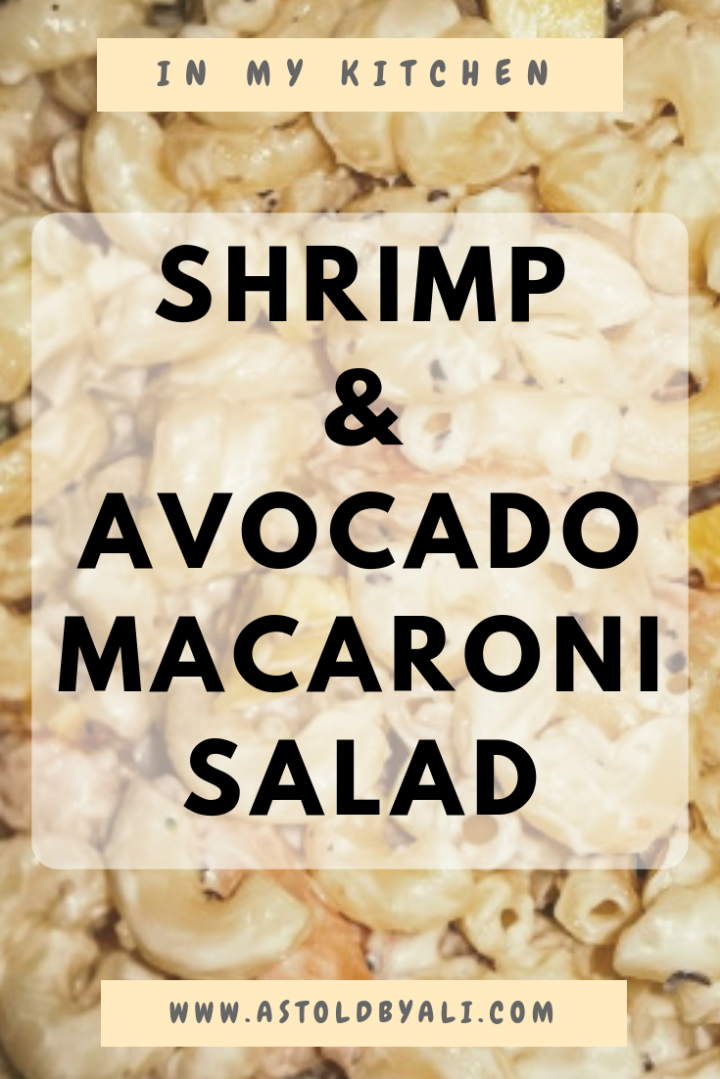 Shrimp & Avocado Macaroni Salad