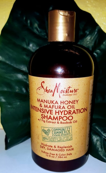 Shea moisture manuka honey and matura oil intensive hydration shampoo