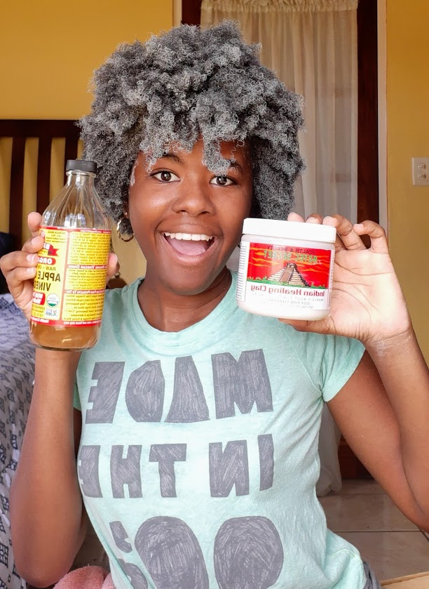 Aztec Indian healing clay mask review on type 4 hair