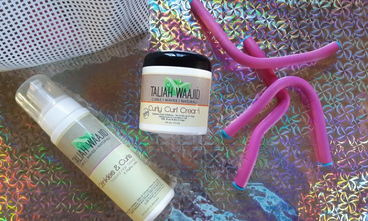 Hair Diary: Taliah Waajid Curly Curl Cream Review