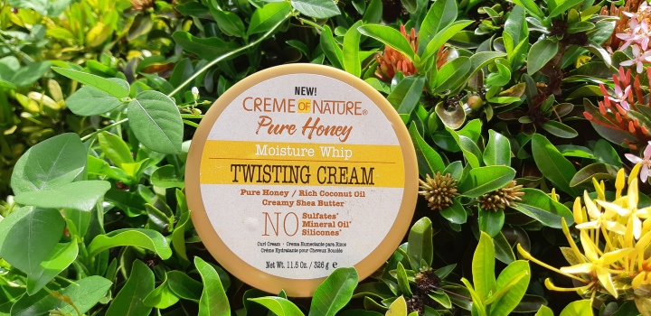 Product Review: Creme of Nature Pure Honey Twisting Cream