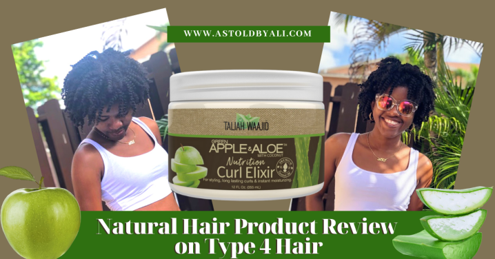 Product Review: Taliah Waajid Green Apple & Aloe Nutrition Curl Elixir