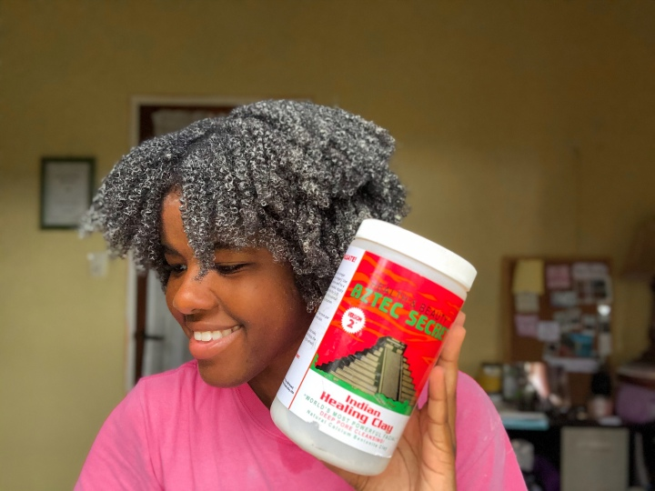 Aztec Indian Healing (Bentonite) Clay Mask Review on Type 4 Hair