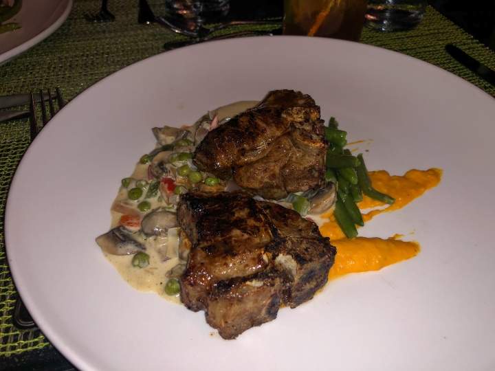 Lamb chops (Dinner from night 1)