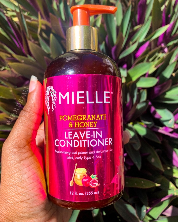 Mielle pomegranate and honey leave-in conditioner